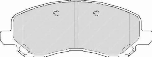 Ferodo FDB4388 - Тормозные колодки, дисковые sparts.com.ua