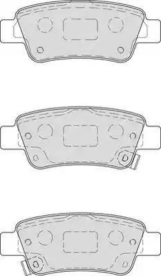 Ferodo FDB4233 - Тормозные колодки, дисковые sparts.com.ua