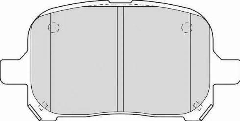 Ferodo FDB1437 - Тормозные колодки, дисковые sparts.com.ua