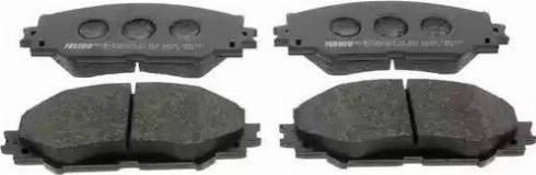 Ferodo FDB1891 - Тормозные колодки, дисковые sparts.com.ua