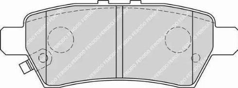 Ferodo FDB1882 - Тормозные колодки, дисковые sparts.com.ua