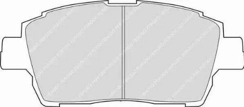 Ferodo FDB1392 - Тормозные колодки, дисковые sparts.com.ua