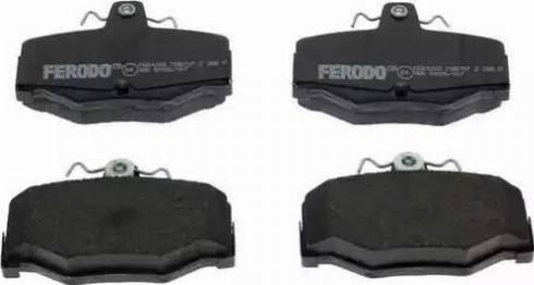 Ferodo FDB707 - Тормозные колодки, дисковые sparts.com.ua