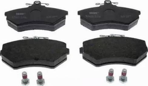 Ferodo FDB775 - Тормозные колодки, дисковые sparts.com.ua