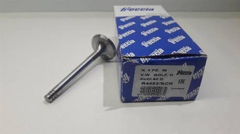 Freccia R4483/SCR - Впускной клапан sparts.com.ua