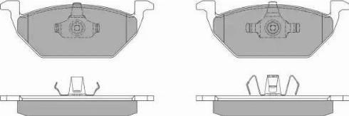FREMAX FBP-1070 - Тормозные колодки, дисковые sparts.com.ua