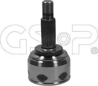 GSP 841047 - Шарнирный комплект, ШРУС, приводной вал sparts.com.ua