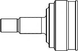 GSP 859011 - Шарнирный комплект, ШРУС, приводной вал sparts.com.ua