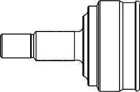 GSP 859035 - Шарнирный комплект, ШРУС, приводной вал sparts.com.ua