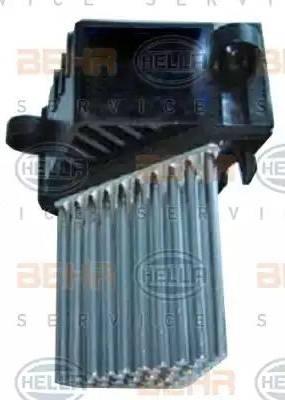 HELLA 5HL351321511 - Регулятор, вентилятор салона sparts.com.ua