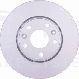 HELLA 8DD 355 129-131 - Тормозной диск sparts.com.ua