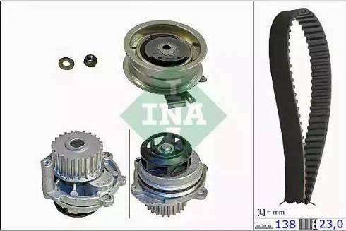 INA 530 0171 31 - Водяной насос + комплект зубчатого ремня sparts.com.ua