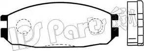 IPS Parts IBD-1136 - Тормозные колодки, дисковые sparts.com.ua