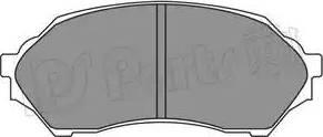 IPS Parts IBD-1364 - Тормозные колодки, дисковые sparts.com.ua
