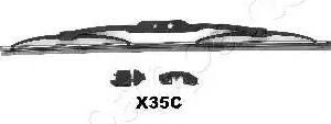 Japanparts SSX35C - Щетка стеклоочистителя sparts.com.ua