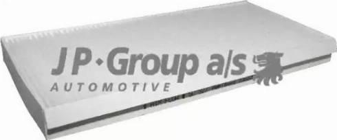 JP Group 1528100100 - Фильтр воздуха в салоне sparts.com.ua