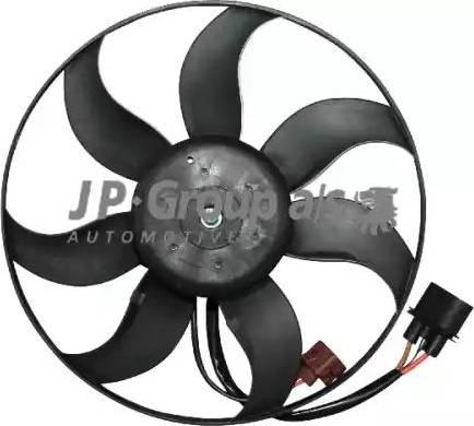 JP Group 1199106200 - Вентилятор, охлаждение двигателя sparts.com.ua