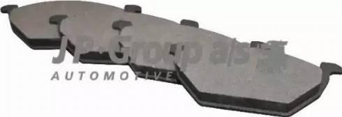 JP Group 1163600910 - Тормозные колодки, дисковые sparts.com.ua