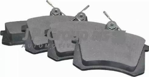 JP Group 1163705810 - Тормозные колодки, дисковые sparts.com.ua