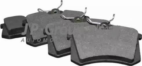 JP Group 1163705310 - Тормозные колодки, дисковые sparts.com.ua