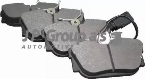 JP Group 1163706010 - Тормозные колодки, дисковые sparts.com.ua