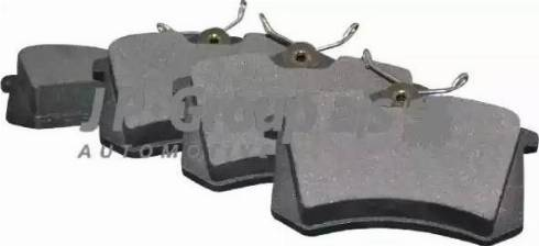 JP Group 1163706310 - Тормозные колодки, дисковые sparts.com.ua