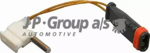 JP Group 1397300400 - Датчик, износ тормозных колодок sparts.com.ua