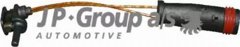 JP Group 1397300500 - Датчик, износ тормозных колодок sparts.com.ua