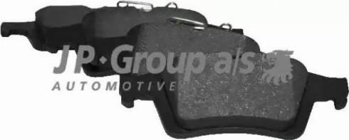 JP Group 1263700610 - Тормозные колодки, дисковые sparts.com.ua