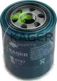Kager 10-0187 - Масляный фильтр sparts.com.ua