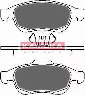 Kamoka JQ1018360 - Тормозные колодки, дисковые sparts.com.ua