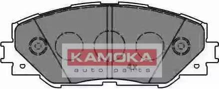 Kamoka JQ1018272 - Тормозные колодки, дисковые sparts.com.ua