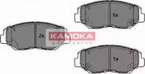 Kamoka JQ1013316 - Тормозные колодки, дисковые sparts.com.ua