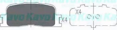 Kavo Parts KBP-9077 - Тормозные колодки, дисковые sparts.com.ua