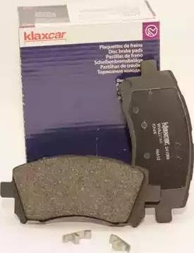Klaxcar France 24108z - Тормозные колодки, дисковые sparts.com.ua