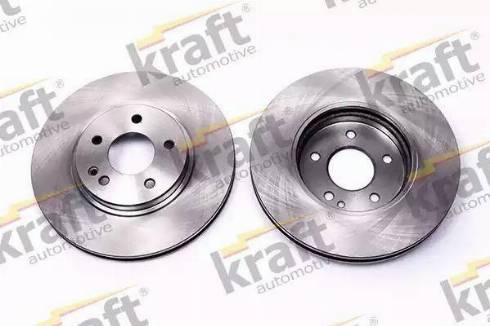 KRAFT AUTOMOTIVE 6041180 - Тормозной диск sparts.com.ua