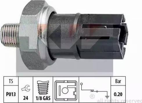 KW 500042 - Датчик давления масла sparts.com.ua
