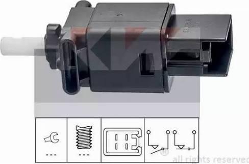 KW 510272 - Выключатель фонаря сигнала торможения sparts.com.ua