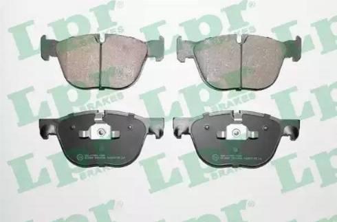 LPR 05P1496 - Тормозные колодки, дисковые sparts.com.ua