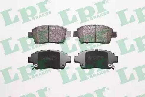 LPR 05P1062 - Тормозные колодки, дисковые sparts.com.ua