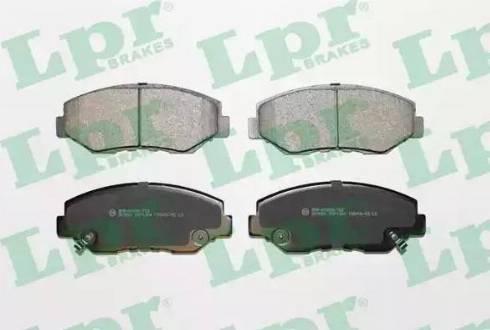 LPR 05P1364 - Тормозные колодки, дисковые sparts.com.ua