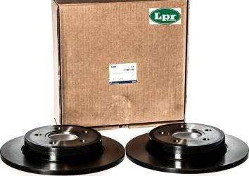 LPR F1013P - Тормозной диск sparts.com.ua