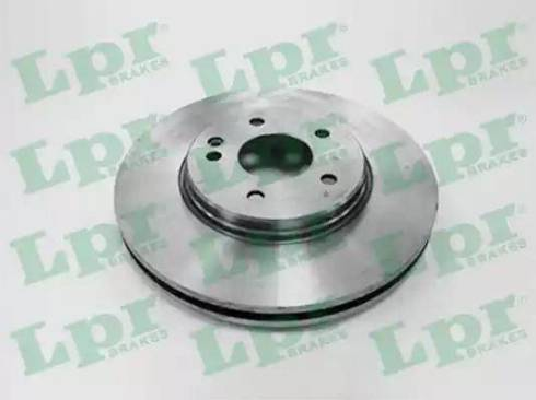 LPR M2611V - Тормозной диск sparts.com.ua