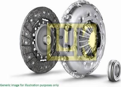 LUK 620300160 - Комплект сцепления sparts.com.ua