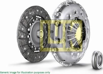 LUK 622114560 - Комплект сцепления sparts.com.ua