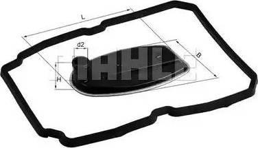 Mahle Original HX81D - Гидрофильтр, автоматическая коробка передач sparts.com.ua