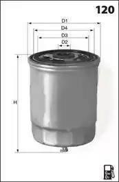 Mecafilter ELG5204 - Топливный фильтр sparts.com.ua