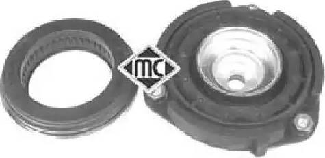 Metalcaucho 04871 - Опора стойки амортизатора, подушка sparts.com.ua