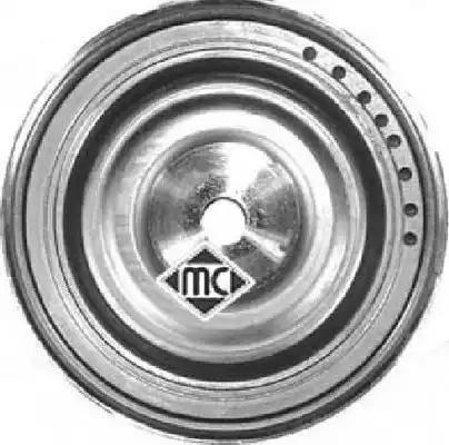 Metalcaucho 04738 - Ременный шкив, коленчатый вал sparts.com.ua