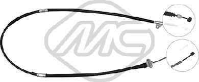 Metalcaucho 83425 - Трос, стояночная тормозная система sparts.com.ua
